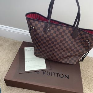 Louis Vuitton Neverfull MM (Damier Ebene)